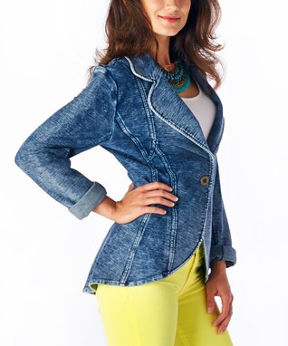 Luii Denim Blue Blazer