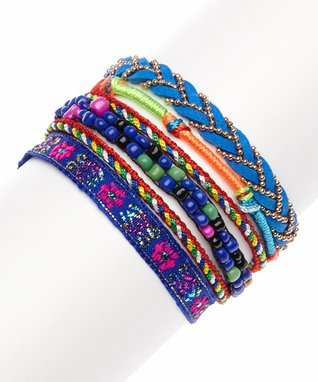 Black Mountain Apparel Blue Braided Bracelet