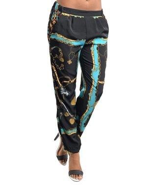 Black & Jade Status Pants