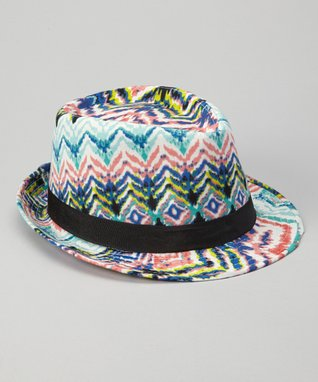 Red Tropical Fedora
