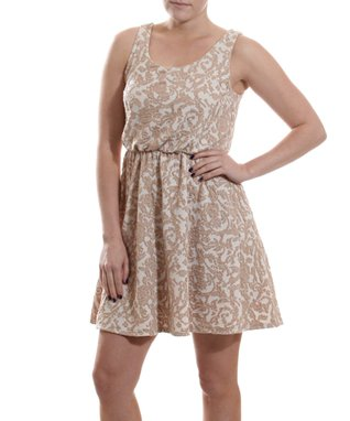 White Surplice Dress