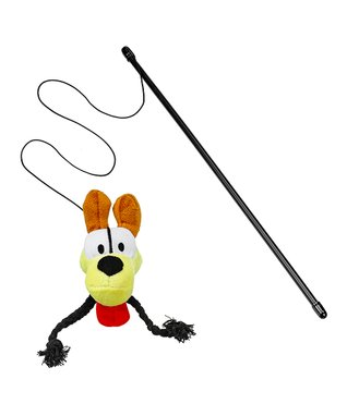 Garfield Feather Fishing Cat Toy