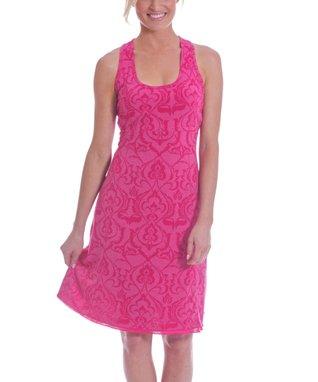 Pink Henna Ananda Racerback Dress