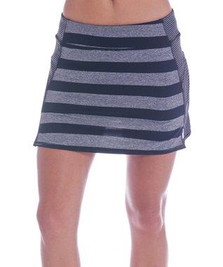 Black Stripe Kayla Skort