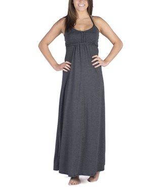 Black Stripe Dhara Maxi Dress