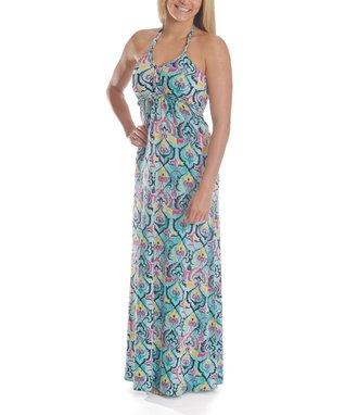 Green Henna Dhara Maxi Dress