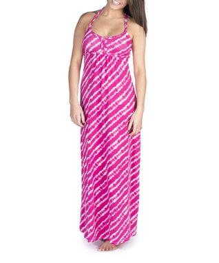 Water Lily Tie-Dye Dhara Maxi Dress