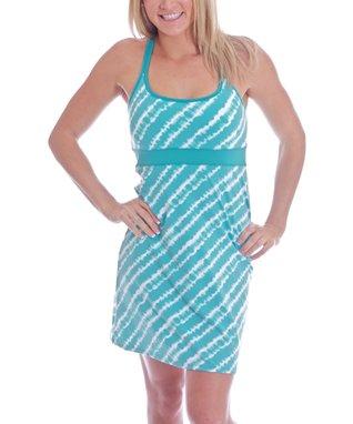 Atlantis Tie-Dye Tahiti Racerback Dress