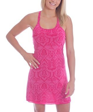 Pink Henna Ashley Racerback Dress