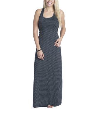 Black Stripe Rachel Maxi Dress