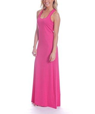 Water Lily Stripe Rachel Maxi Dress