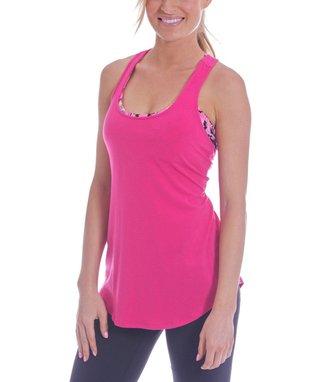 Pink Henna Michelle Dolman Top