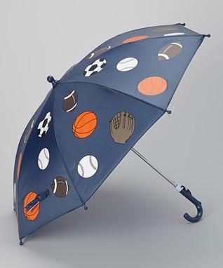 Foxfire Navy Sports Balls Umbrella