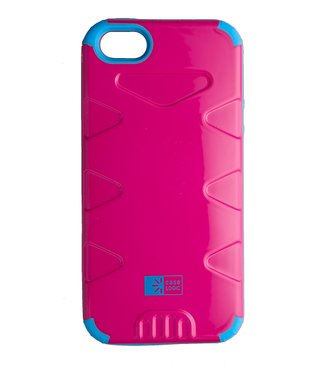 Pink & Blue Durable Case for iPhone 5