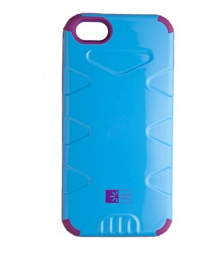 Blue & Purple Durable Case for iPhone 5