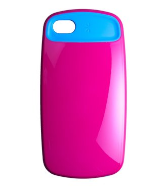 Pink & Blue Smooth Case for iPhone 5
