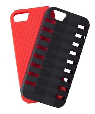 Red & Black Xtreme Two-Piece Case for iPhone 5