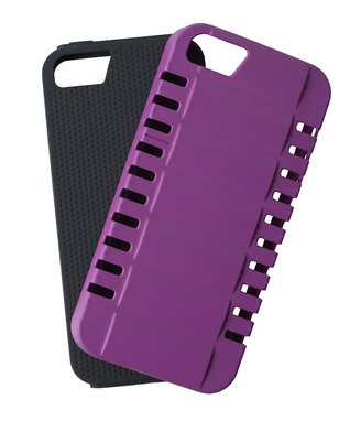 Black Off Road Two-Piece Case for iPhone 5