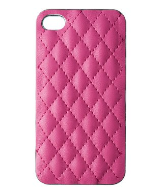 Pink Quilted Case for iPhone 5