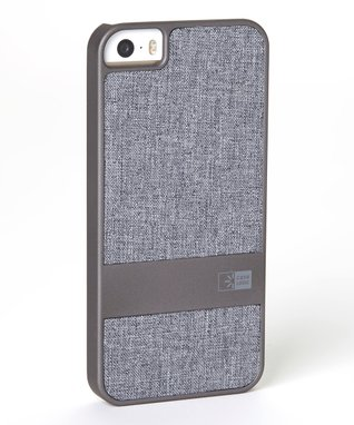Gray Faux Denim Case for iPhone 5