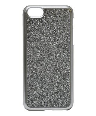 Silver Glitter Case for iPhone 5