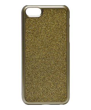 Gold Glitter Case for iPhone 5