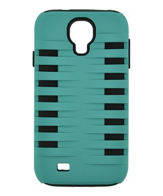 Blue & Black Zebra Case for Galaxy S4