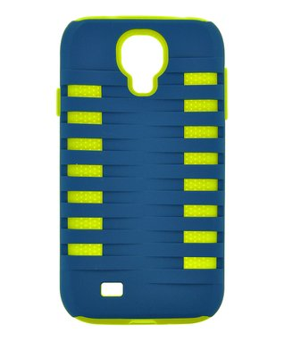 Blue & Lime Xtreme Two-Piece Case for Galaxy S4