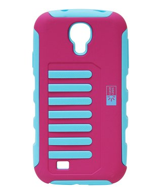 Pink & Blue Grip Case for Galaxy S4