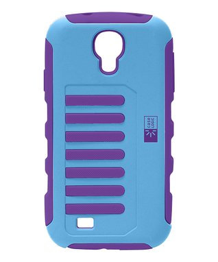 Blue & Purple Grip Case for Galaxy S4