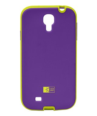 Purple & Lime Case for Galaxy S4