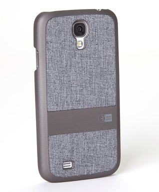 Gray & Black Faux Denim Case for Galaxy S4