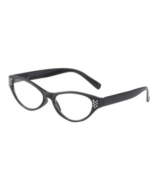 Black Bead Eyeglass Chain