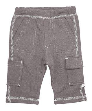 babysoy Pink Cargo Pants - Infant