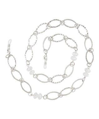Black & White Geometric Eye Catchers Eyeglass Necklace