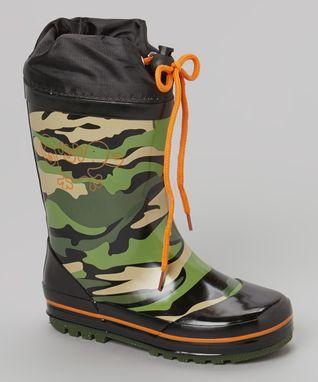 Henry Ferrera: Kids' Rain Boots