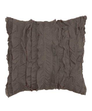 Beige Trellis Throw Pillow