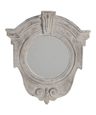 White French Wall Mirror