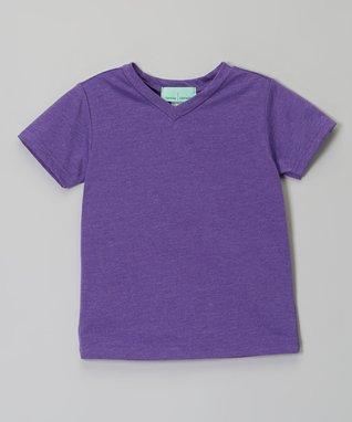 Hot Pink V-Neck Tee - Infant, Toddler & Girls