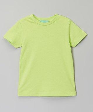 Lime Crew Neck Tee - Infant, Toddler & Girls