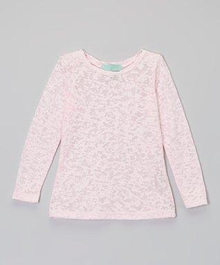 Peach Hi-Low Tank - Toddler & Girls