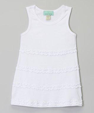 Hot Pink Ruffle A-Line Dress - Infant, Toddler & Girls