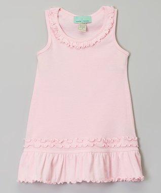 Yellow Ruffle Sleeveless Dress - Infant, Toddler & Girls