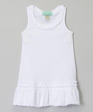 Pink Ruffle Sleeveless Dress - Infant, Toddler & Girls