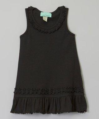 White Ruffle Sleeveless Dress - Infant, Toddler & Girls