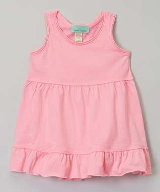 Black Ruffle Babydoll Dress - Infant, Toddler & Girls