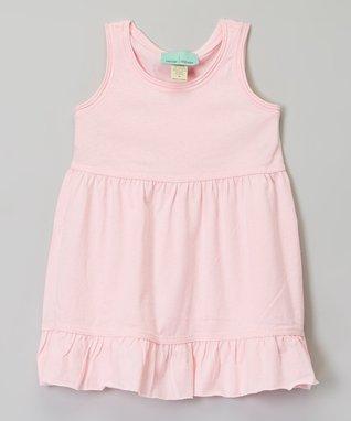 Lavender Ruffle Ruffle Babydoll Dress - Infant, Toddler & Girls