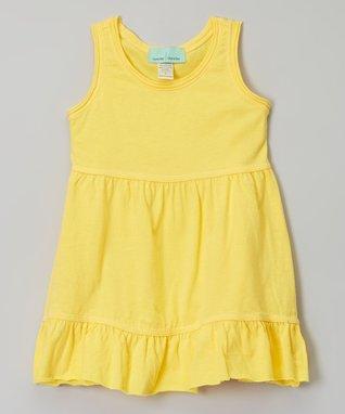 Yellow Ruffle Babydoll Dress - Infant, Toddler & Girls