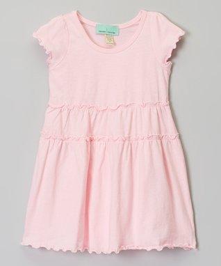 Baby Pink Ruffle Babydoll Dress - Infant, Toddler & Girls