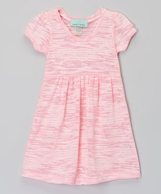 Baby Pink Burnout Dress - Infant, Toddler & Girls